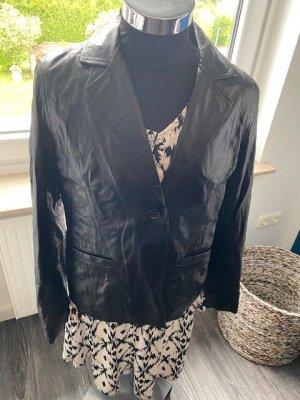 Monari Unisex Blazer dark brown leather