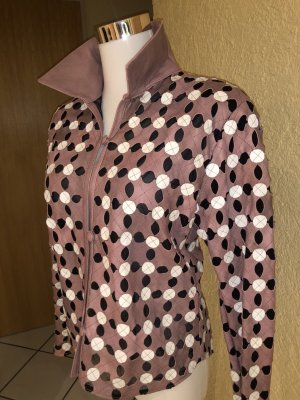 Leather Blouse multicolored leather