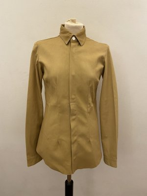 Leather Blouse ocher