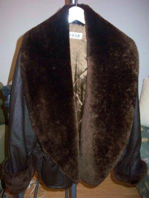 -8- Venice Blouson bronze-colored leather