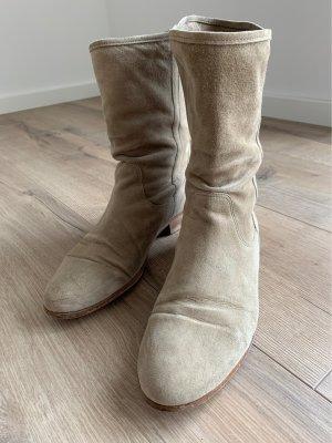 Görtz Shoes Bottines à enfiler brun sable