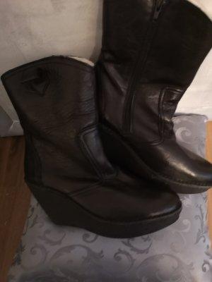 Ca Shott Chukka boot noir cuir