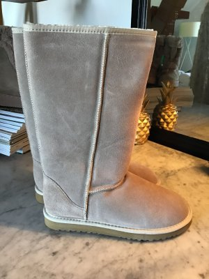 Fur Boots camel-cream leather