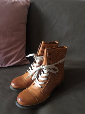 Buffalo Slouch Booties multicolored leather