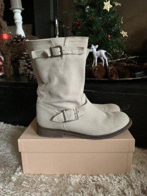 Impressionen Chukka boot blanc cassé cuir