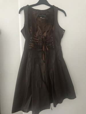 Crazy Outfits Leather Dress brown