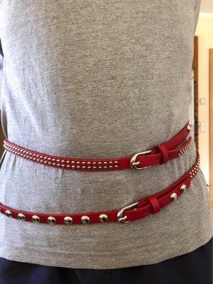 Double Belt dark red