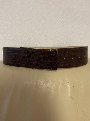Stefanel Leather Belt brown