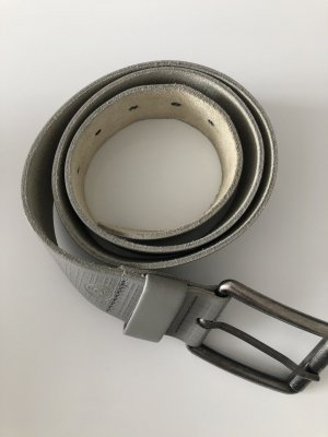 Esprit Leather Belt grey