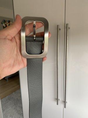 Vanzetti Leather Belt grey