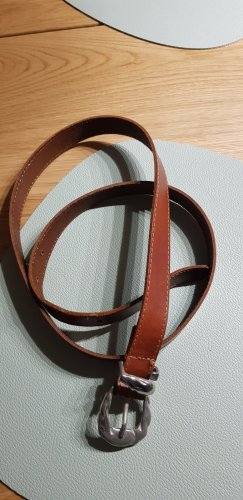 Faux Leather Belt brown