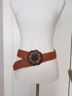 Friis & Company Cinturón de cuero marrón