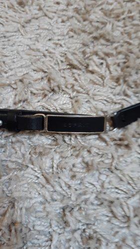 esprit collection Cinturón de cuero negro