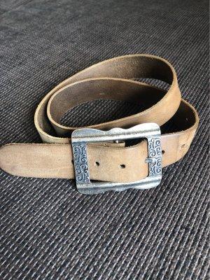 Passarella Leather Belt brown