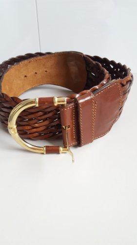 ECHT LEDER Cinturón de cuero coñac Cuero
