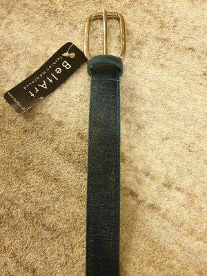 beltart Leather Belt dark blue
