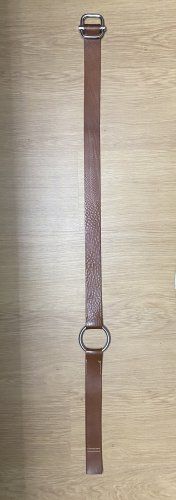 Promod Hip Belt cognac-coloured-silver-colored leather