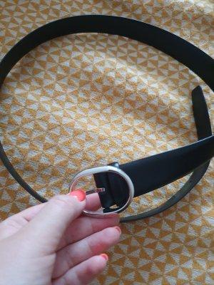 Joop! Leather Belt dark blue