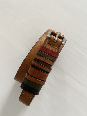 Marc O'Polo Leather Belt multicolored