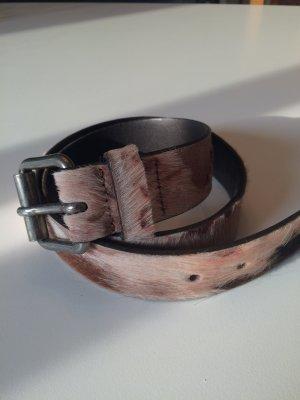 Sisley Cintura di pelle multicolore