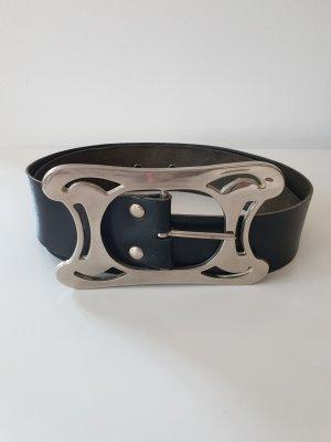 keine Marke Leather Belt black
