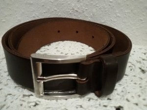Street One Leather Belt brown red