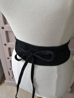 Genuine Leather Cinturón pélvico negro