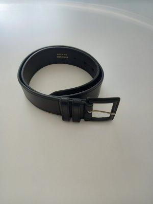 BECK Leather Belt black