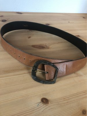Bogner Leather Belt light brown-bronze-colored