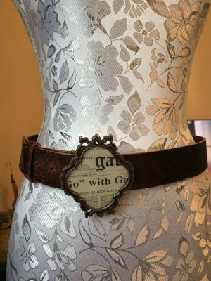 Ledergürtel von Galliano