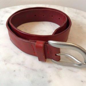 Liebeskind Berlin Cintura di pelle rosso Pelle