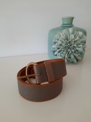 Pieces Leather Belt multicolored