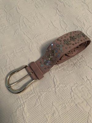 Vanzetti Studded Belt mauve
