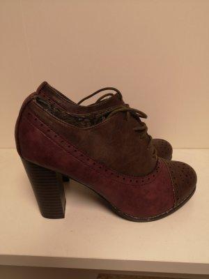 Görtz Shoes Veterschoenen donkerrood