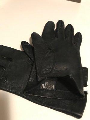 Roeckl Guanto in pelle nero