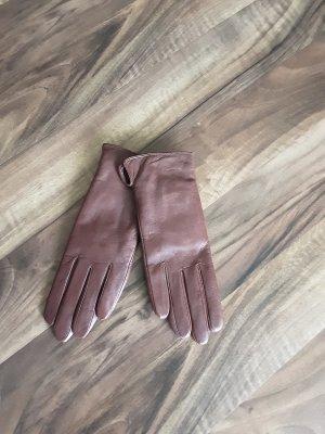 Mishumo Leren handschoenen bruin
