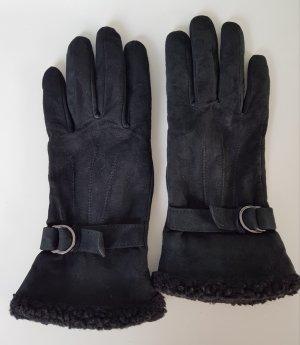 Tchibo / TCM Rękawiczki skórzane czarny