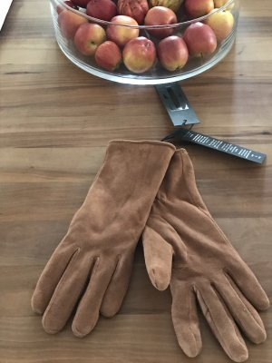 TIF-TIFFY Leren handschoenen camel