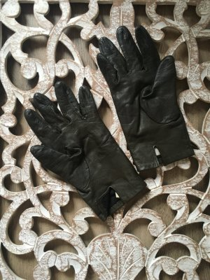 Promod Leather Gloves multicolored leather