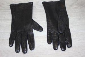 Lederhandschuhe schwarz gefüttert