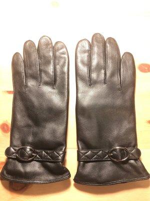 Tchibo / TCM Leather Gloves black
