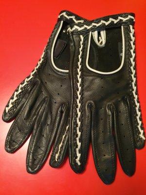 Roeckl Leather Gloves white-black