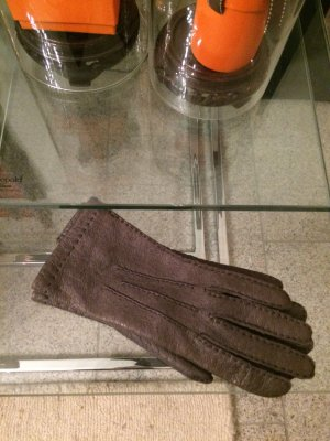 Roeckl Leather Gloves grey
