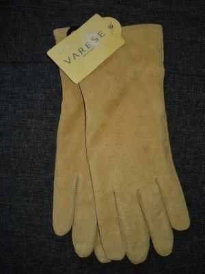 Varese Leather Gloves sand brown