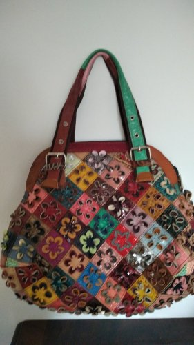 Lederhandtasche aus Italien