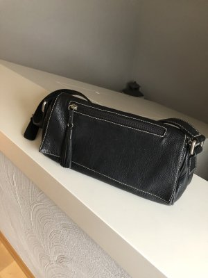 Lederhandtasche, Handtasche, schwarz