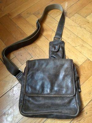 Lederhandtasche Von Pierre Cardin