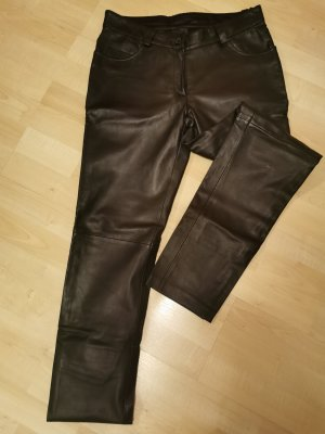 BC Collection Leather Trousers black