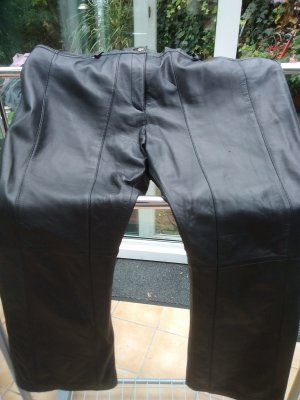 Pantalon en cuir noir cuir
