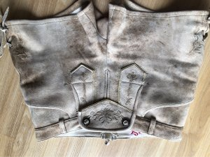Spieth & Wensky Pantalon traditionnel en cuir multicolore daim